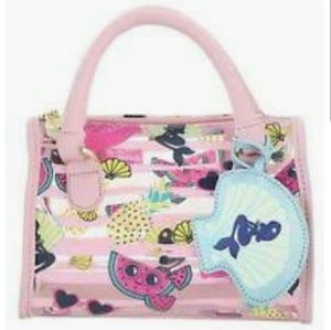 Luv Betsey by Betsey Johnson Mermaid, Flamingo Bag